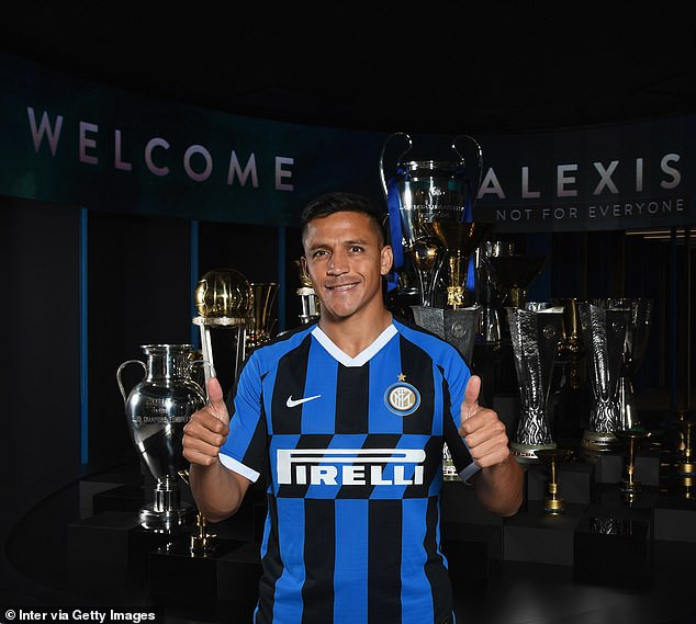 Alexis Sanchez completes loan move to Inter Milan