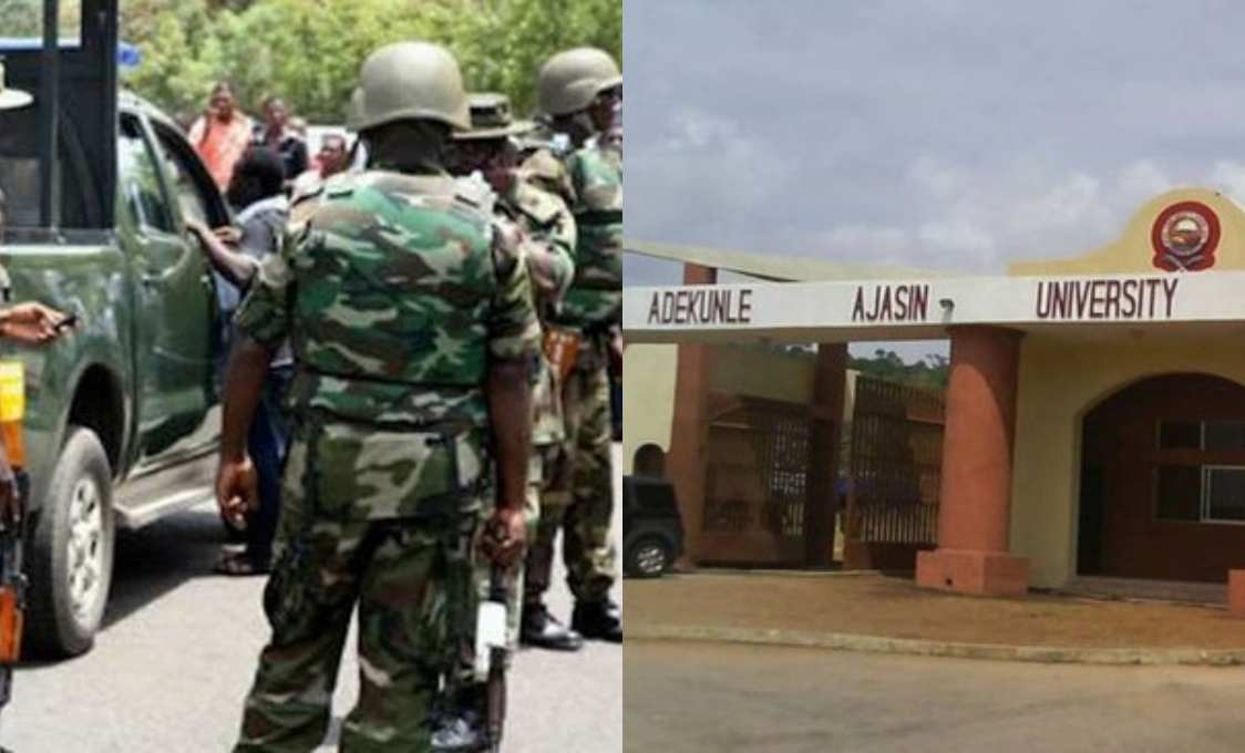 Photo of Five soldiers allegedly arrested for gang-raping Adekunle Ajasin University student