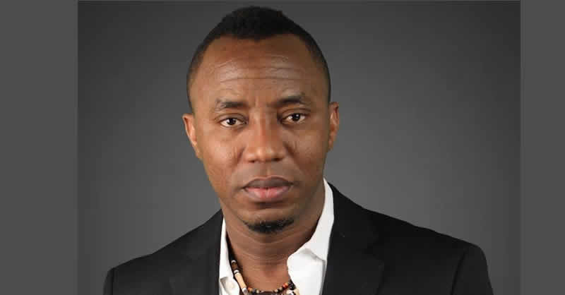 Sowore nominated for United States 'Prisoner of Conscience' honour