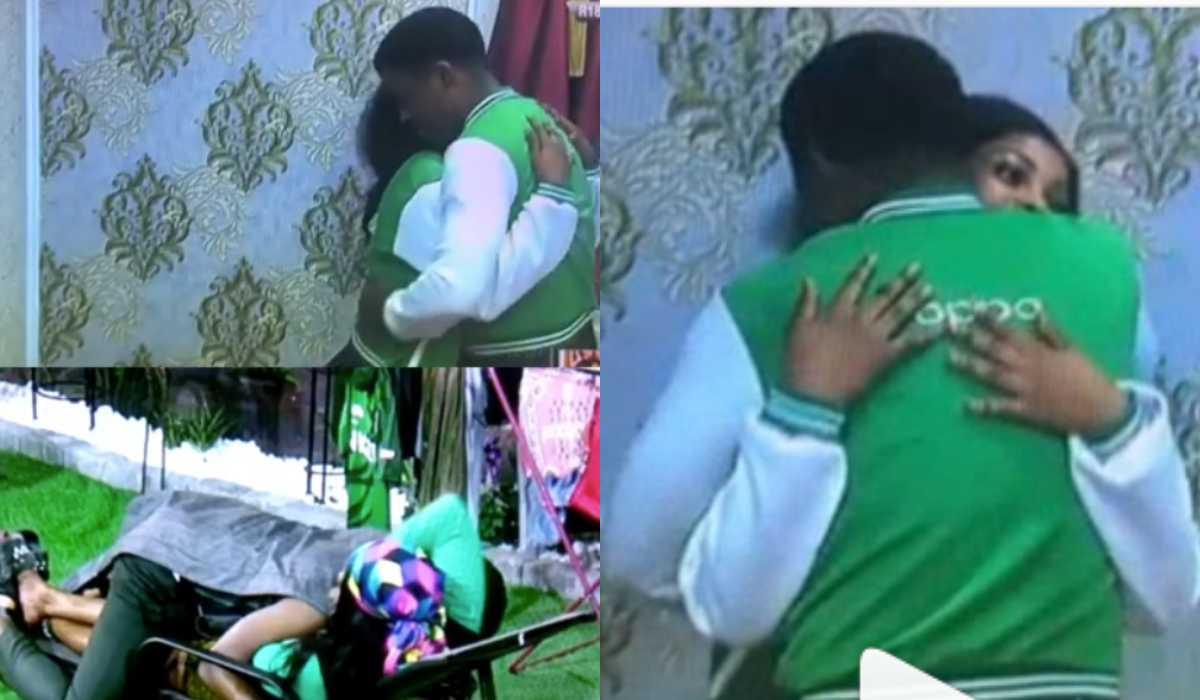 Photo of BBNaija 2019: Tacha and Seyi caught hugging each other