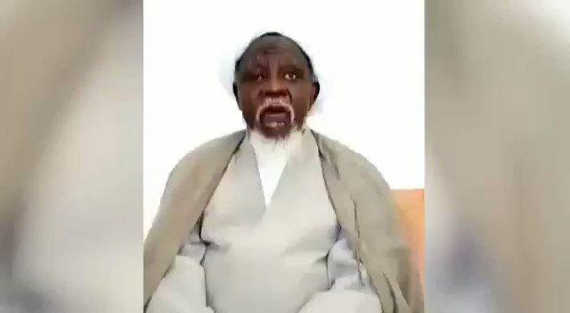 El-Zakzaky speaks on his immediate return to Nigeria (Video)
