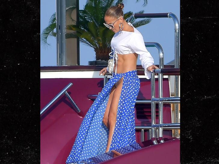 Intimate photos of Jennifer Lopez