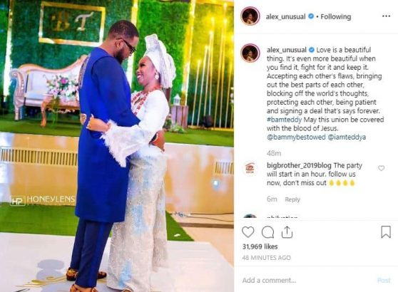 Alex Unusual sends warm message to Teddy A & BamBam