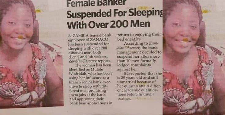 Banker suspended for allegedly sleeping with over 200 men