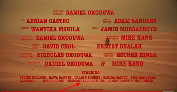 Emmanuella featured in Australian movie, Survive or Die (Video)