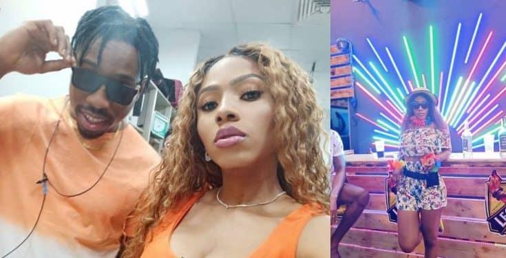 BBNaija 2019 : Mercy and Ike caught smooching and moaning