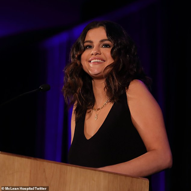 Selena Gomez gives emotional speech