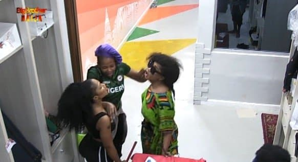 Photo of BBNaija: Tacha and Mercy facing disqualification after their fight turned physical