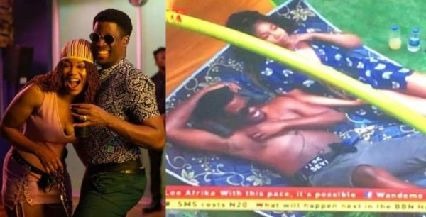 Photo of BBNaija 2019: Seyi and Tacha shares intimate moment in the garden