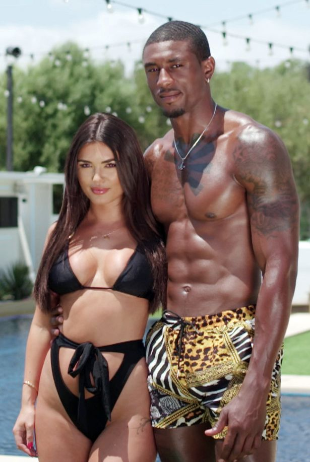 Love Island's Ovie Soko and India Reynolds
