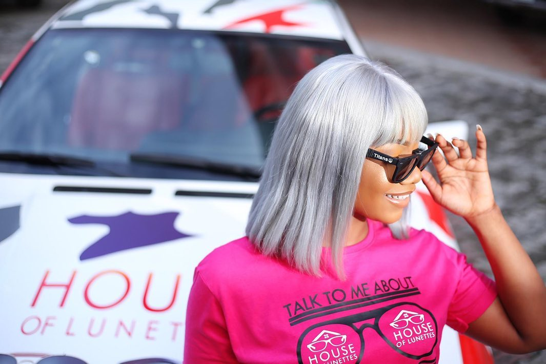 House of Lunettes sold over 1500 glasses in 2hours after Tacha became ambassador