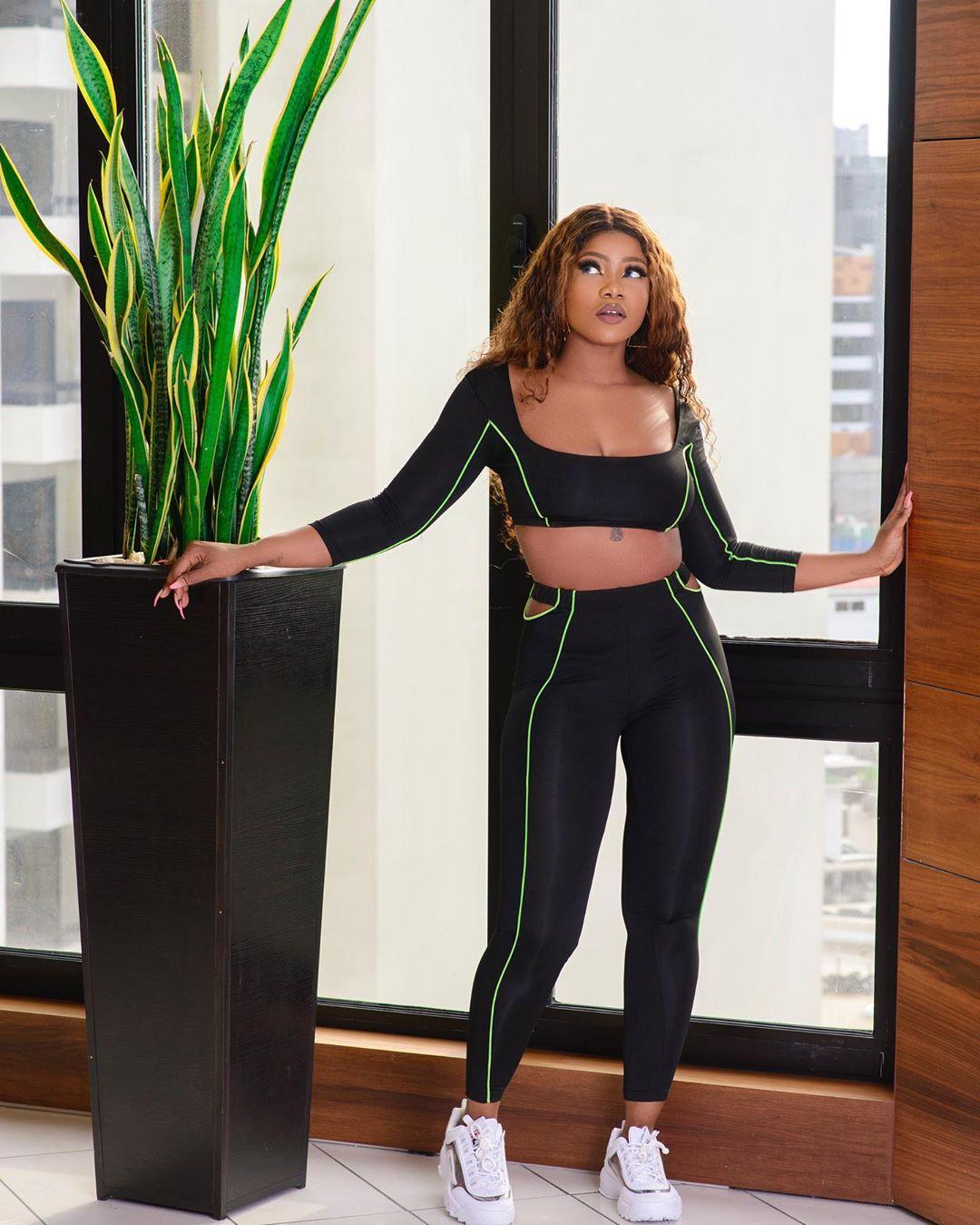 Reality star, Tacha flaunts curves in new photos