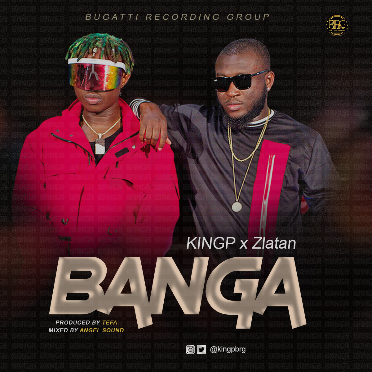 Photo of Zlatan on Banga with KINGP Produced by Tefa Listen and Download