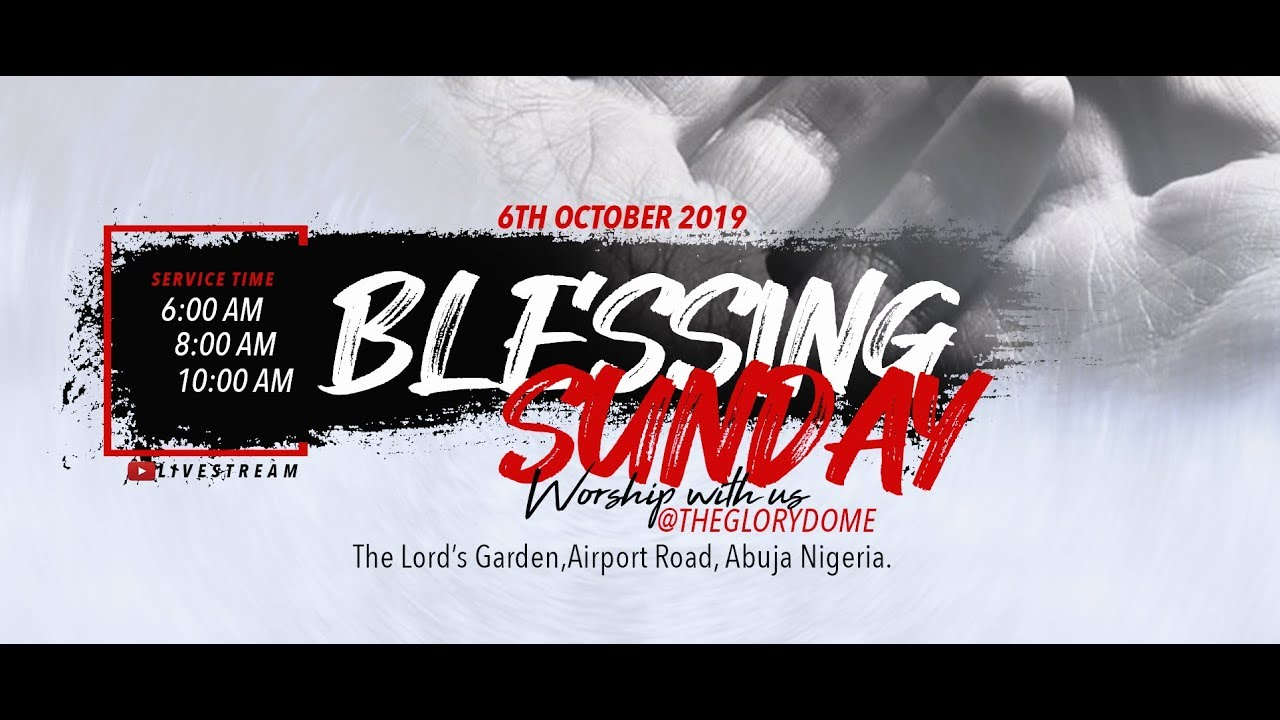 Photo of Dunamis Live Service 6 October 2019 with Dr. Paul Enenche