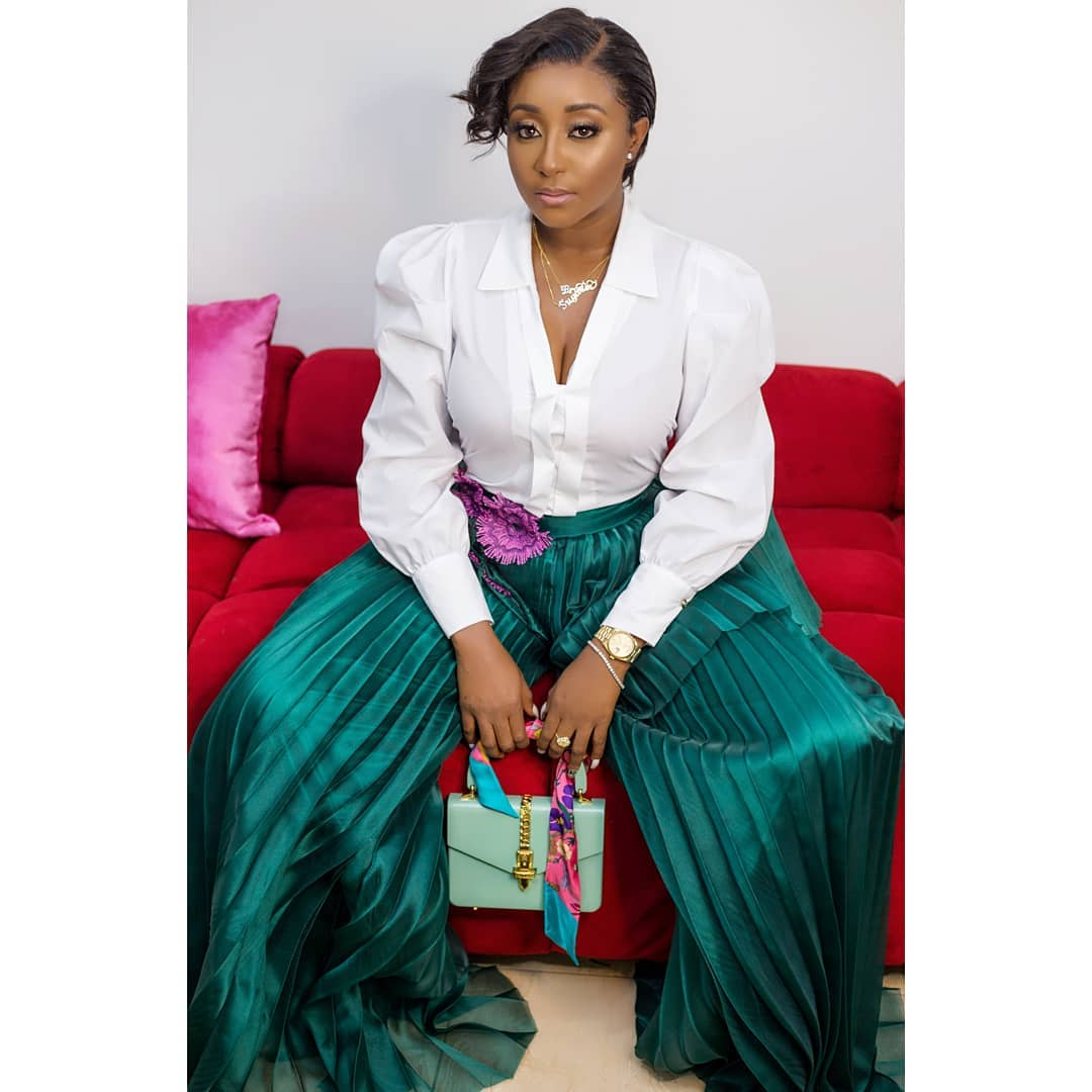 Photo of Actress Ini Edo looks completely beautiful and sexy in new Photos