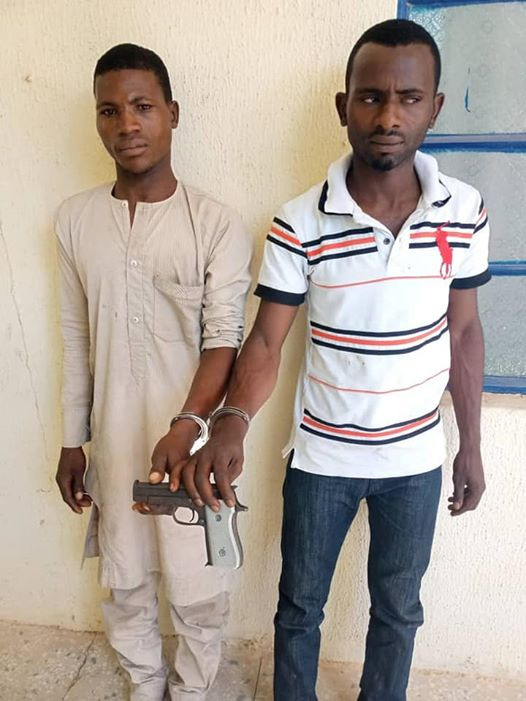 Photo of Police nab two notorious armed robbery syndicate in Katsina