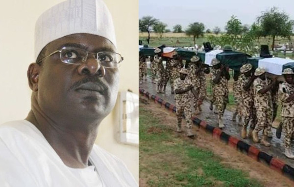 Boko Haram killed 847 soldiers