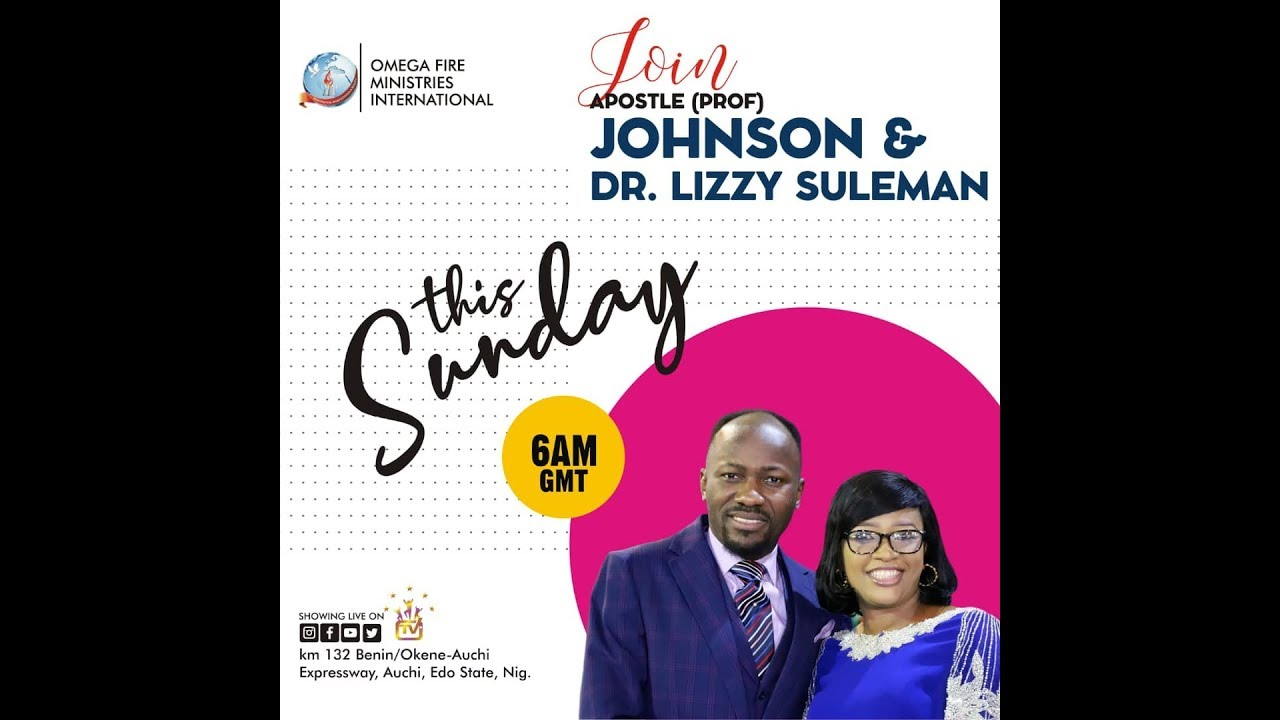 Omega Fire Ministries 27 October 2019 Live Service