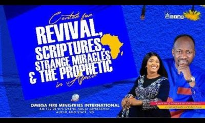 Live Anointing Service With Apostle Johnson Suleman - 3 May 2020