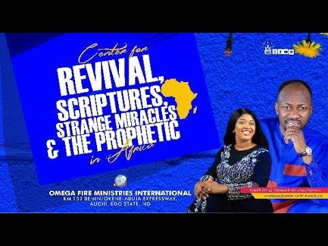 Photo of Omega Fire Ministries Live Service 13 October 2019 with Apostle Johnson Suleman