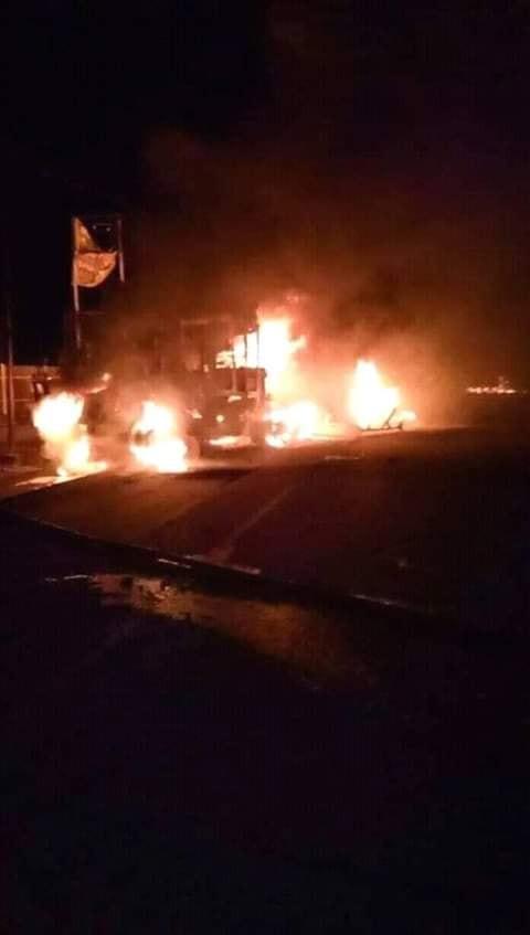 Photo of Fire razes Benin market, EPDA office complex