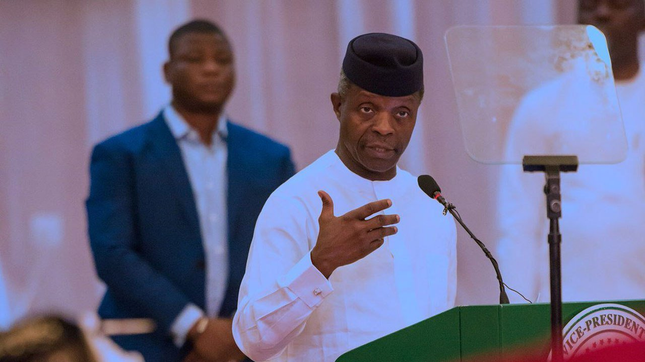 Photo of What Osinbajo says about the new minimum wage