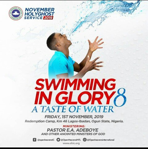 RCCG Holy Ghost Service November 2019