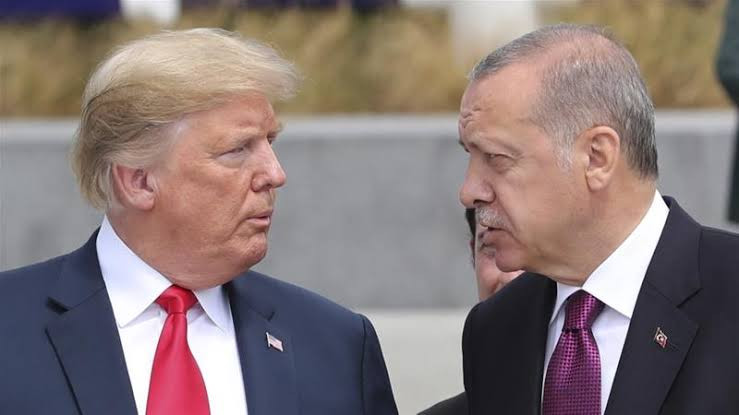 Letter Donald Trump sent Turkey's president Erdogan