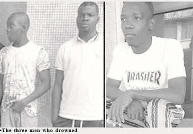 Three men drown while fleeing police arrest