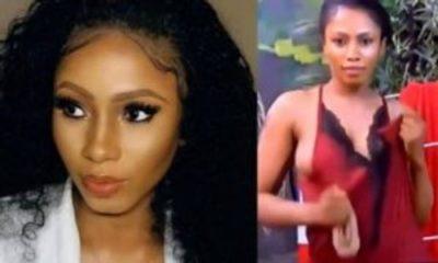 BBNaija 2019: Mercy flips out her nipples