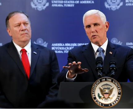Photo of US and Turkey reach deal to suspend Turkish military offensive in Syria – Vice President Mike Pence