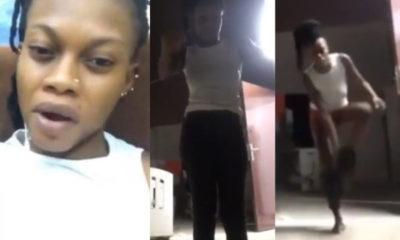 Ghanaian Queen strips on Facebook Live to curse her ex-boyfriend