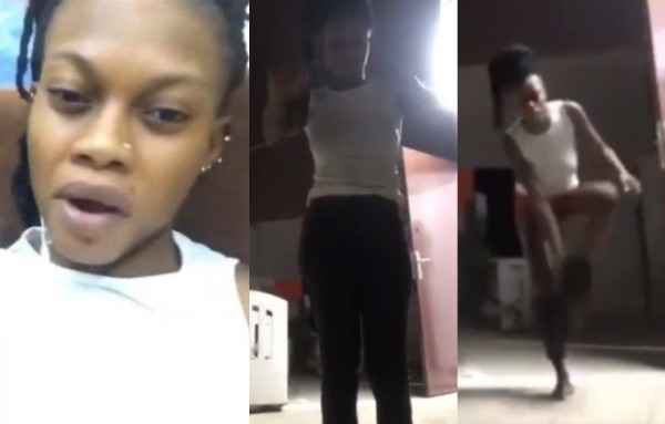 Ghanaian Queen strips on Facebook Live to curse her ex-boyfriend