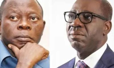 Godwin Obaseki and Oshiomhole
