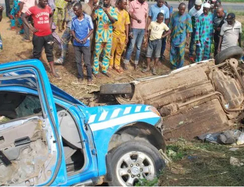 Gunmen clash with FRSC officials along Lokoja-Okene road