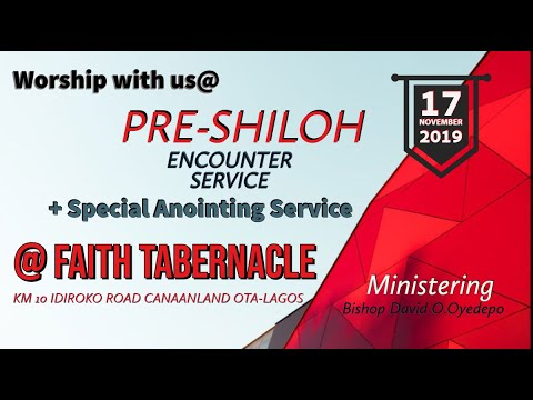 Winners' Chapel 17 November 2019 Live Service