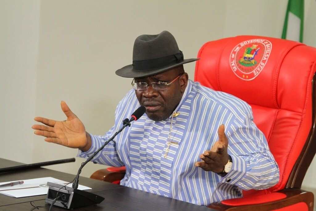 Goodluck Jonathan was used by APC against PDP – Gov. Dickson