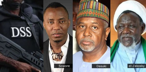 Photo of Why Sowore, Dasuki, EL-Zakzaky remain in detention – DSS