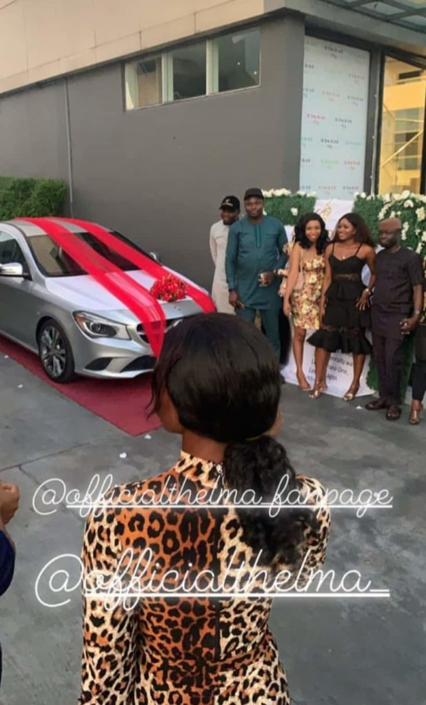 BBNaija's Thelma receives Benz gift