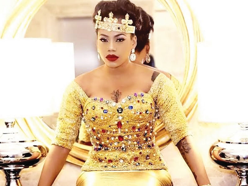 Photo of Toyin Lawani narrates how she battled Fibroid for five years