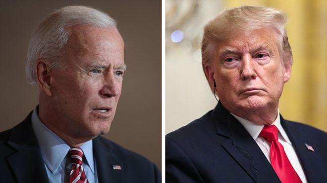 Photo of Trump tepidly defends Joe Biden after North Korean insult