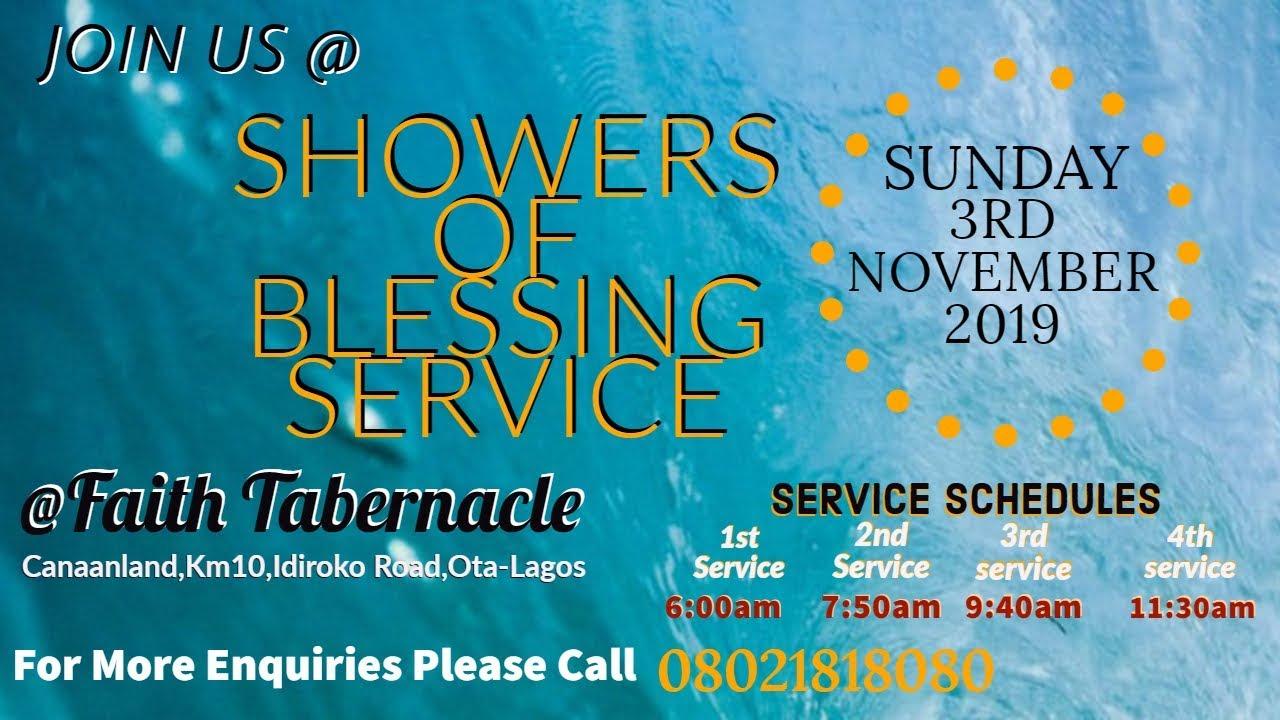 Winners' Chapel 3 November 2019 Live Service