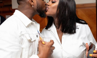 Romantic photos of Davido and his fiancee, Chioma