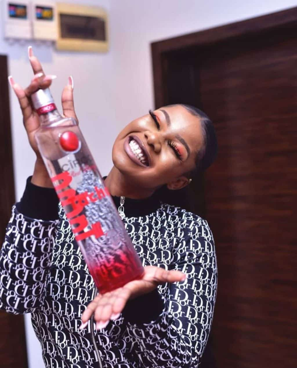 Tacha signs endorsement deal with Ciroc Vodka