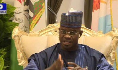 Nigerians were forced to accept Coronavirus - Governor Yahaya Bello