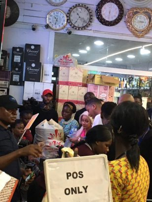 Cardi B spotted at Ebeano Supermarket shopping