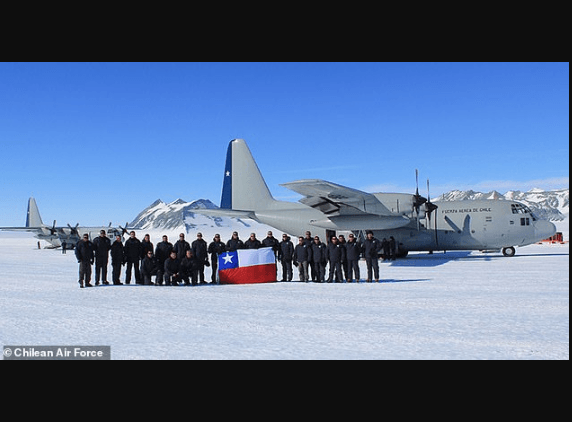 Photo of Chilean military plane carrying 38 people goes missing