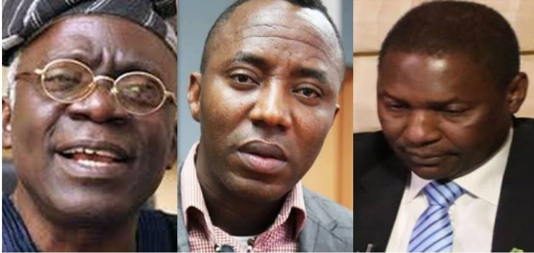 Photo of You risk being removed as AGF if you fail to release Sowore – Falana tells Attorney General, Abubakar Malami