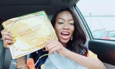 Khafi receives surprise package from Tacha