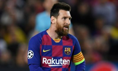 New look of Lionel Messi after he shaved off his beard